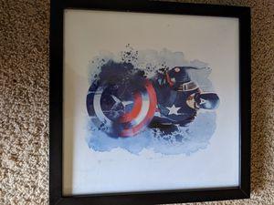 Captain America wall decor for Sale in Puyallup, WA
