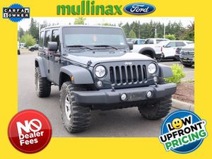 2018 Jeep Wrangler JK Unlimited for Sale in Olympia, WA