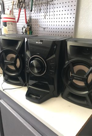Sony stereo system for Sale in Corona, CA