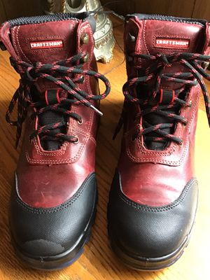 Craftsman Pioneer Red Work Boots for Sale in Wildomar, CA