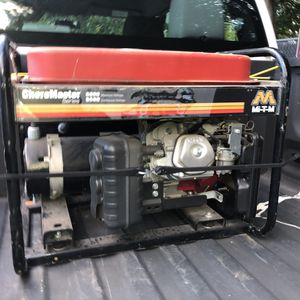 Chore master Honda 6000 Watts generator for Sale in Atlanta, GA