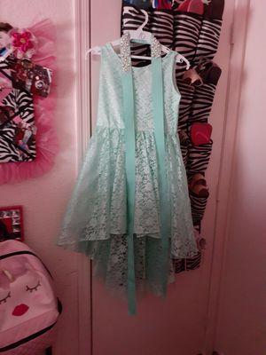 Aqua blue dress for Sale in Chandler, AZ