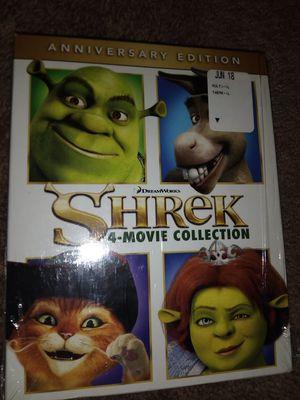 Blu Ray Shrek Collection 10$ for Sale in Phoenix, AZ