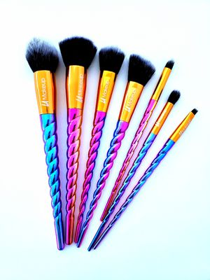 Colorful unicorn makeup brushes for Sale in Los Angeles, CA