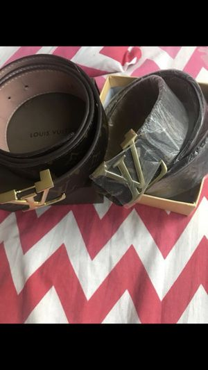 Louis Vuitton Belts *Together for Sale in Washington, DC