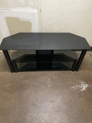 Modern Glass Top TV stand for Sale in Springfield, PA