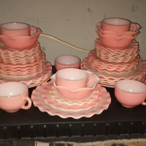 Hazel Atlas Crinoline Pink And White for Sale in Reading, PA