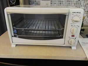 Brand new never used small Euro-pro toaster oven for Sale in Tampa, FL
