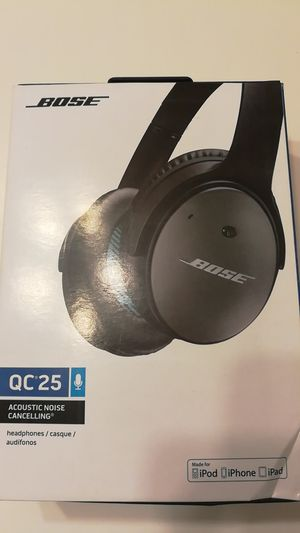Bose headphones qc25 for Sale in College Park, MD