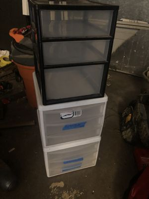 Plastic organizers for Sale in Glendora, CA