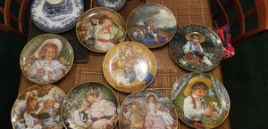A child's Almanac plate collection all 9 for Sale in Columbia, SC