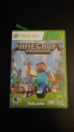 XBOX 360 Edition Minecraft Game Working for Sale in Tacoma, WA
