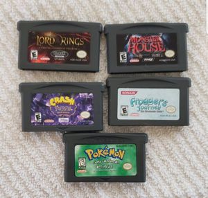 Gameboy advance games for Sale in Portland, OR