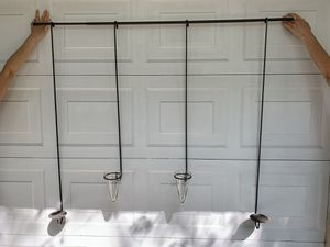Pottery Barn Iron Wall Hanger for Candles for Sale in Western Springs, IL