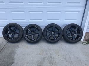 5x114.3 Acura Rims and Tires ( Set of Four ) for Sale in Hampton, VA