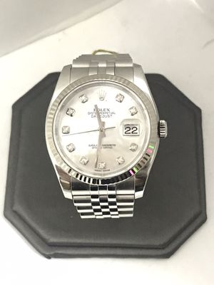 Unisex Rolex 18Kt Stainless Oyster Perpetual Datejust for Sale in Dallas, TX