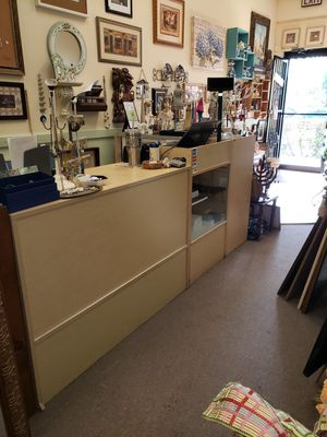 Display case / register drop / desk for Sale in Boca Raton, FL