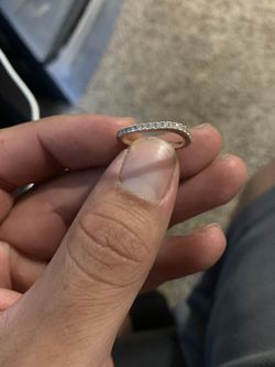 Diamond Rose Gold wedding band for Sale in Denver,  CO