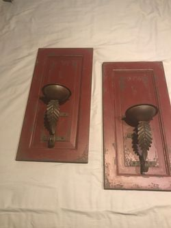 Candle sconces. Pair for Sale in Oakland Park,  FL