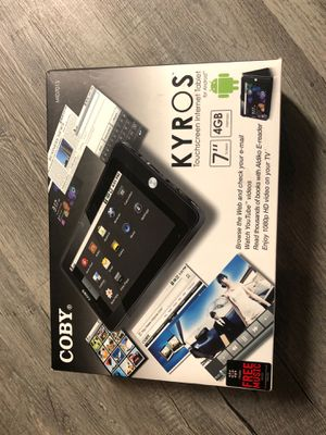 Kyros Touchscreen Internet Tablet for Android. for Sale in Peoria, IL