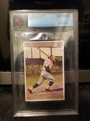 1932 babe ruth card. 1961 Roger Maris card. 1983 ryan Sandberg baseball cards. for Sale in River Grove, IL