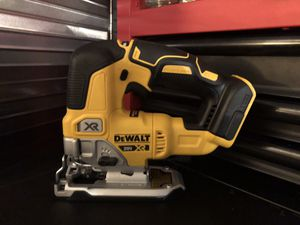 DEWALT XR BRUSHLESS CORDLESS 20V JIG SAW BRAND NEW for Sale in Virginia Beach, VA