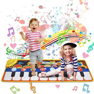Brand New)Music Mat Toy,19 Piano Key Playmat Touch Play Game Dance Blanket Carpet Mat with Record, Playback, Demo, Adjustable Vol, Educational Toys for Sale in Duluth, GA