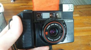 Canon Sure Shot 35mm Camera, Bag, and Lenses for Sale in Independence, OH
