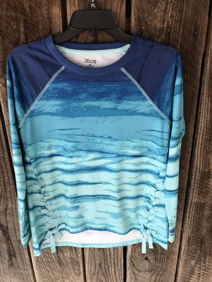 women zelos shirt NWT blue long sleeve for Sale in Crandall, GA