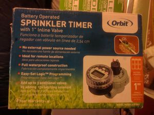 Part to Orbit sprinkler timer for Sale in San Francisco, CA