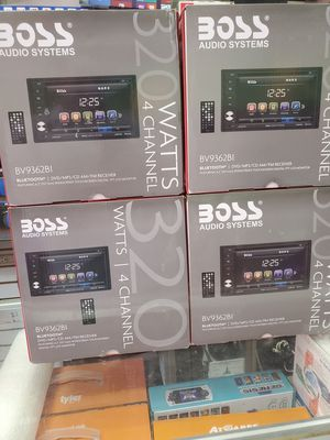 TOUCH SCREEN INDASH DVD PLAYER AVAILABLE BY BOSS WITH BLUETOOTH AND USB AND SD CARDS AND MP3 CDS AND DVD PLAYER. for Sale in Los Angeles, CA