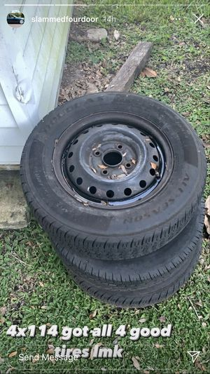 4x114 steelies for Sale in St. Cloud, FL