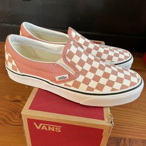 Vans Checkerboard Classic Slip-On Women's Size 8 for Sale in Lakewood, CA