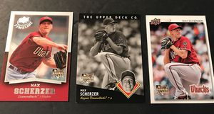 Max scherzer rookie baseball cards upper deck. for Sale in Oak Forest, IL