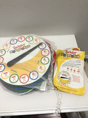 Kids twister hopscotch floor game for Sale in Pompano Beach, FL