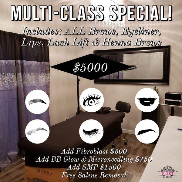 Multi Class Special