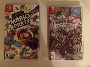 Super Mario party Dragon Quest 11 for the Nintendo Switch for Sale in Lutz, FL