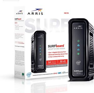ARRIS SURFboard (32x8) Docsis 3.0 Cable Modem, Certified for Xfinity, Spectrum, Cox & More for Sale in Rancho Cucamonga, CA