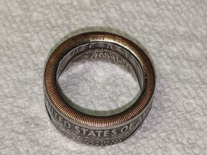 IKE one dollar coin ring for Sale in Winchester, VA