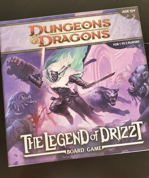 Dungeons & Dragons: The Legend of Drizzt board game for Sale in Tempe, AZ