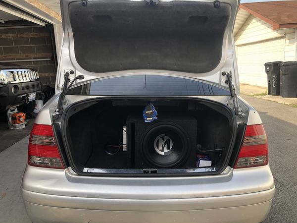 Memphis audio sub and box dual coil