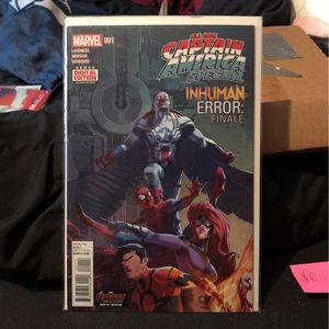 Marvel All New Captain America Special Inhuman Error: Finale 001 for Sale in Des Plaines, IL