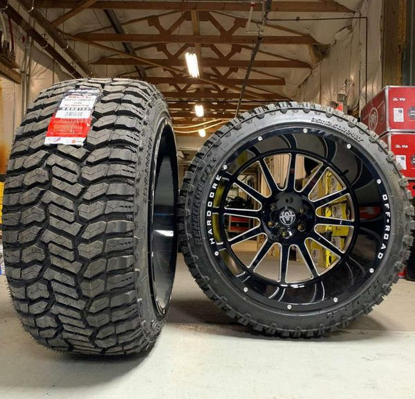 22x14 Wheels And Tires Set 35125022 For Sale In Phoenix