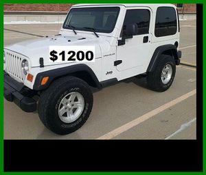 ֆ12OO Jeep Wrangler for Sale in Spokane, WA
