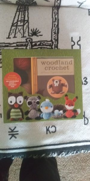 Woodland crochet for Sale in Sioux Falls, SD