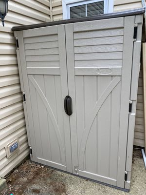 Suncast 2 ft. 8 in. x 4 ft. 5 in. x 6 ft. Large Vertical Storage Shed for Sale in Fairfax Station, VA