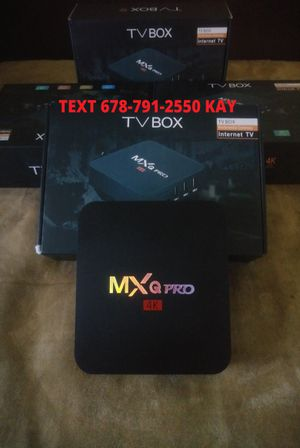 ANDROID 4K Ultra HD BOX ] Does more than the stick ] Pro setup for Sale in Riverdale, GA