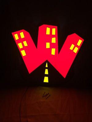 Wingstreet Neon Sign for Sale in Wenatchee, WA