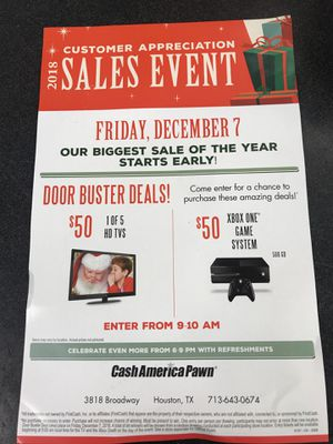 December 7th Sale Event for Sale in Houston, TX