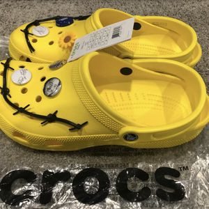 Post Malone Barbed Wire Clog, Mens Size 4-13 for Sale in Covington, KY